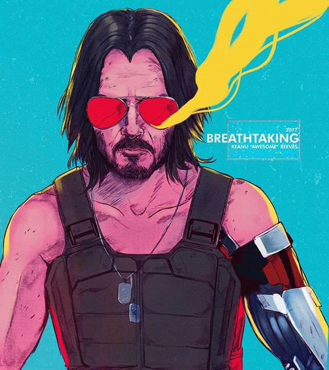 My Cyberpunk 2077 Fan Art Is Finished Who S Even More Hyped Now Knowing That Keanu Reeves Is In This Game Can T Wai Cyberpunk 2077 Cyberpunk Art Cyberpunk
