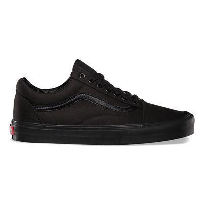 Canvas Old Skool Shop Shoes At Vans Classic Shoes Vans Shoes All Black Vans