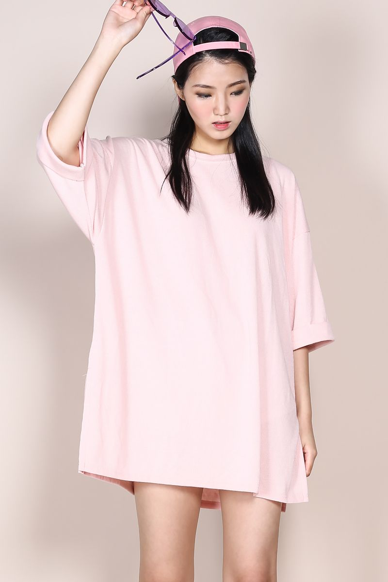 Oversized Tshirt Dress Pink2 Tshirt Outfits Tshirt Dress Outfit Formal Dresses Outfits