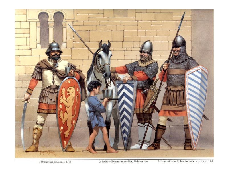 military essays byzantine armies Byzantine army the general principle of the military defence of the empire in the 4th century consisted in large forces stationary on the frontiers, and reserve forces, stationed in the.
