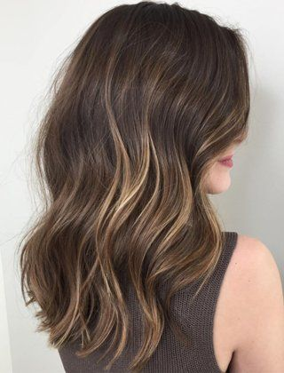 20 Sweet Caramel Balayage Hairstyles for Brunettes and Beyond #naturalashblonde