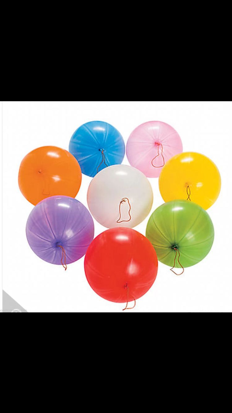 50 LARGE PUNCH BALLOONS BIRTHDAY PARTY BAG FILLERS GOODY KIDS LOOT PINATA TOYS