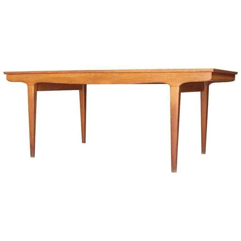 Johannes Andersen Dining Room Table Vintage
