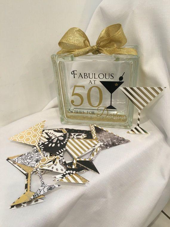 50th Birthday Wish Block