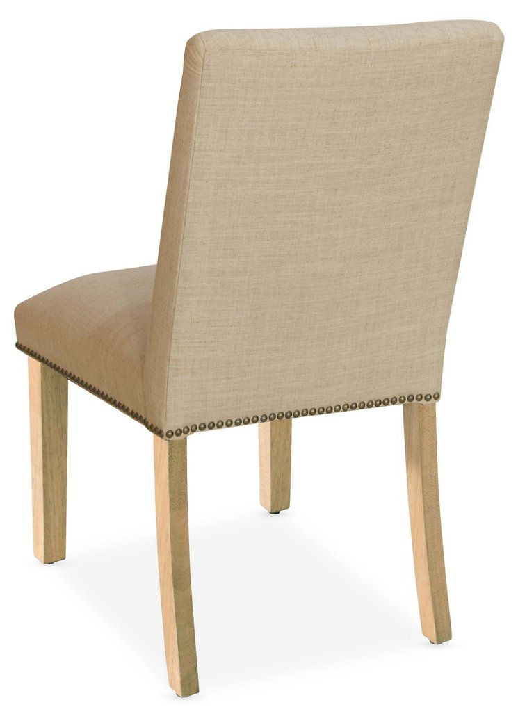 Kean Side Chair, Sand Linen - Side Chairs - Dining Chairs - Dining