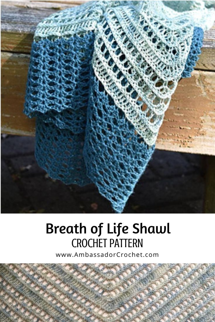 Breath of Life Shawl CAL - Ambassador Crochet