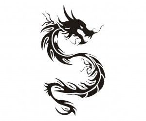 Chinese dragon tattoo, another I'm thinking of In Memory