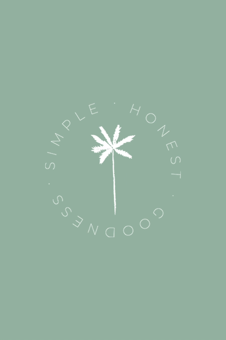 Minimal plant brand icon