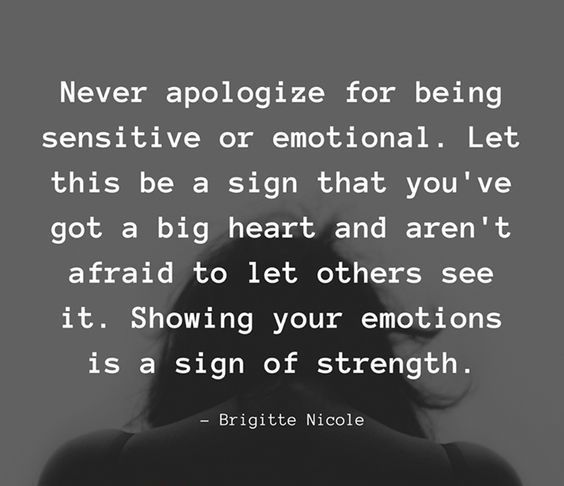 60 Being Sensitive Quotes and Sayings | The Random Vibez