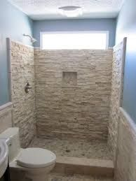 Bathroom Design Decor Remarkable Small Combined With Full Size Dual Shower  Mixed. Small ShowersNatural StonesSmall ...