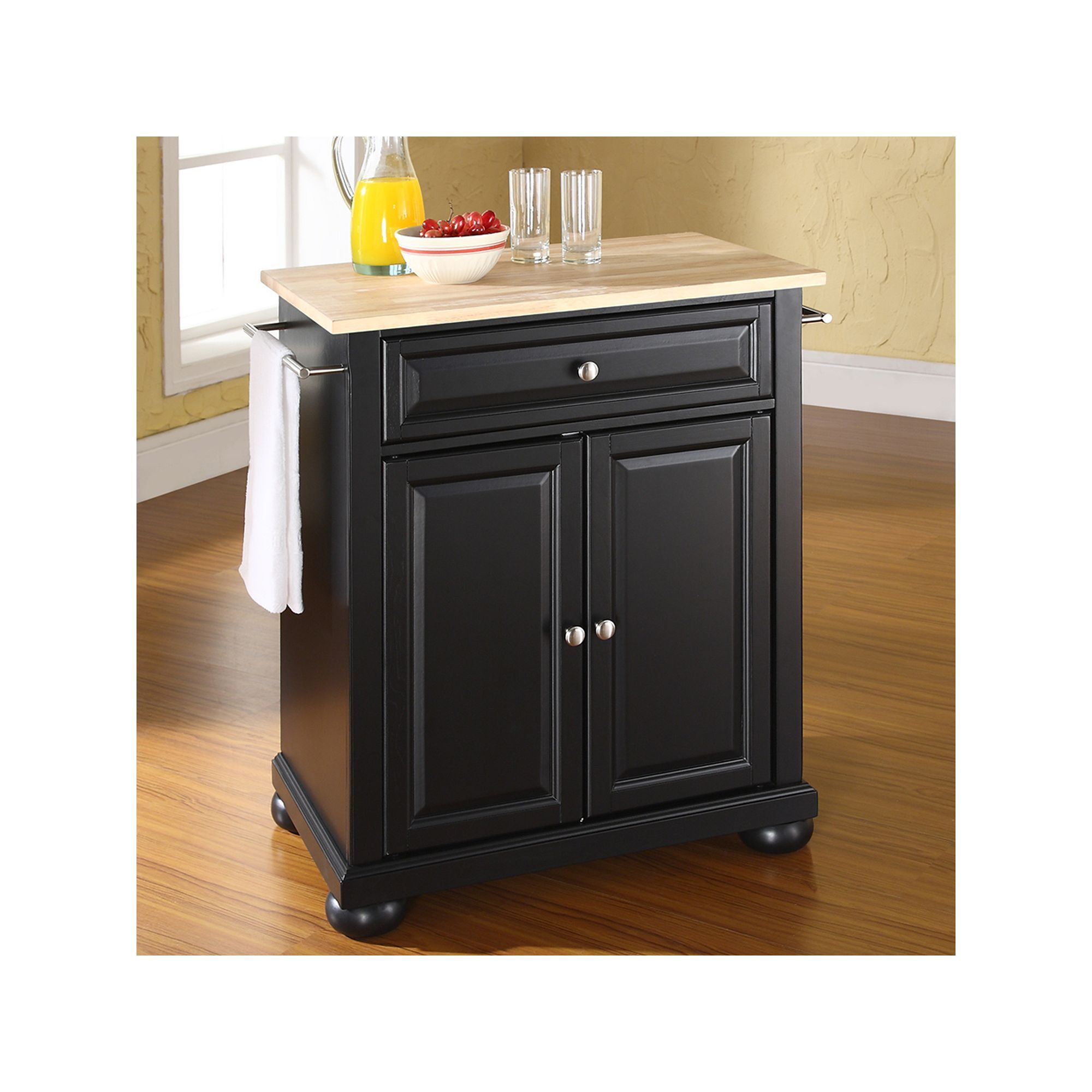 Crosley Furniture Alexandria Wood Top Kitchen Island Other Clrs
