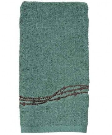 Turquoise Barbed Wire Bath Towels   Towel, Bath towels ...