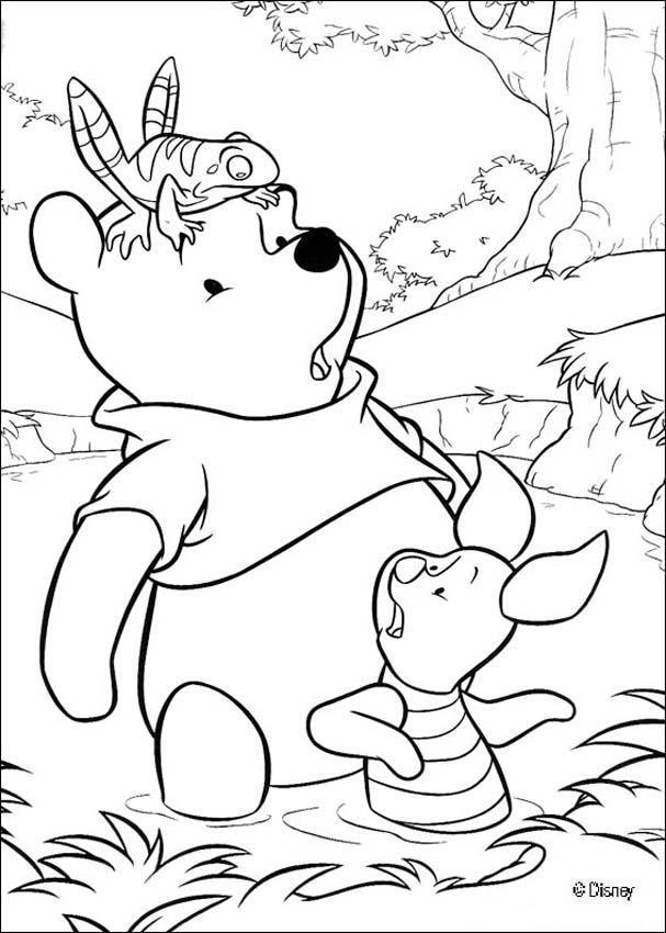 Imágenes de Winnie Pooh para Pintar o Colorear | Mundo ... | Para ...