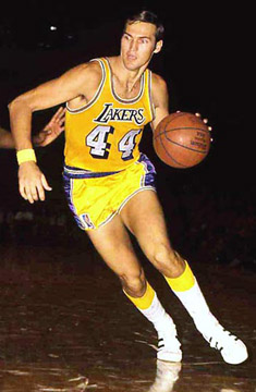 Jerry West aka Mr. Clutch aka The Logo. From Cabin Creek