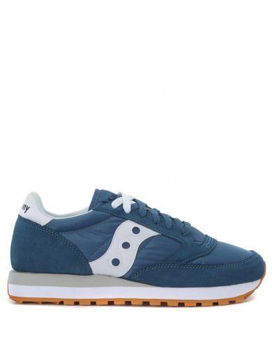 SAUCONY Saucony Jazz Sneaker In Blue Avio Suede. #saucony #shoes #https:
