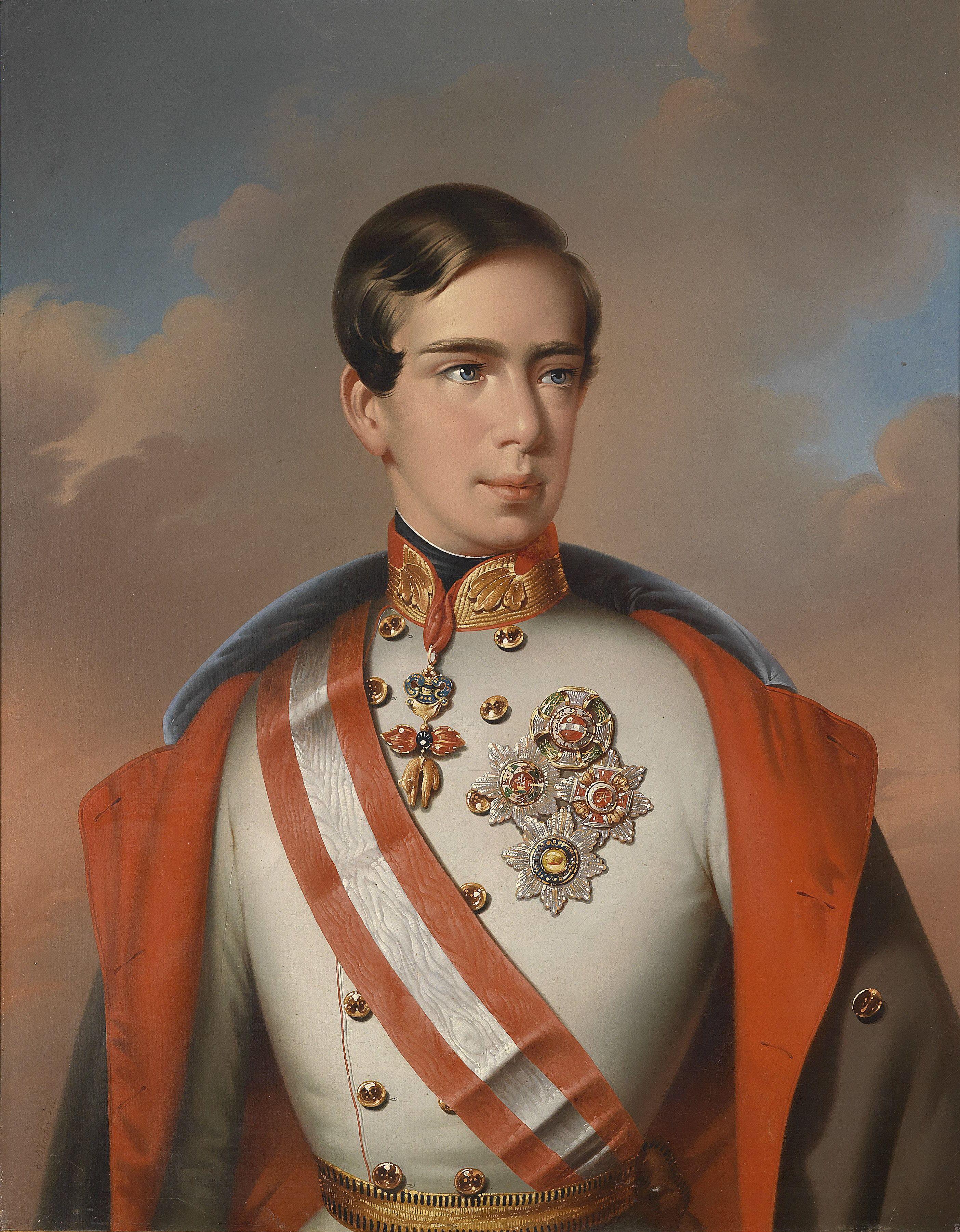 Eduard Klieber Franz Joseph I Empress sissi, Austria