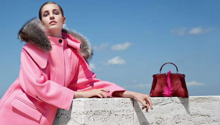 We are blushing over Fendi's Fall/Winter 2014-15 collection. For more luxury fashion, visit http://balharbourshops.com/