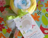 washcloth spoon lollipop  www.babycakesanddecor.etsy.com