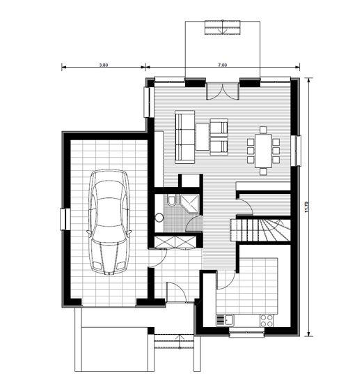 Proiecte de case mici cu mansarda pentru toti pl for Proiecte case mici cu mansarda gratis