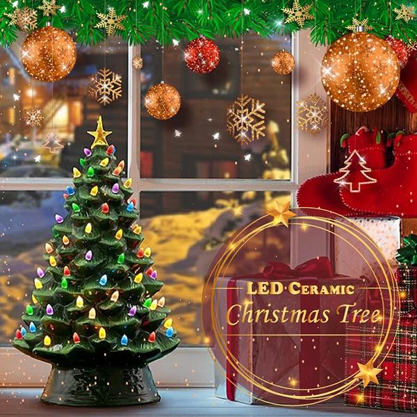 LED Ceramic Christmas Tree