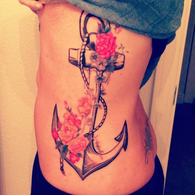 """We have this hope, as an anchor for the soul, firm and secure"" Hebrews 6:19 tattoo"