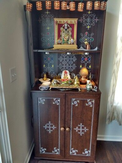 Temple I Made For My New Home ! Thank You Shyama For The
