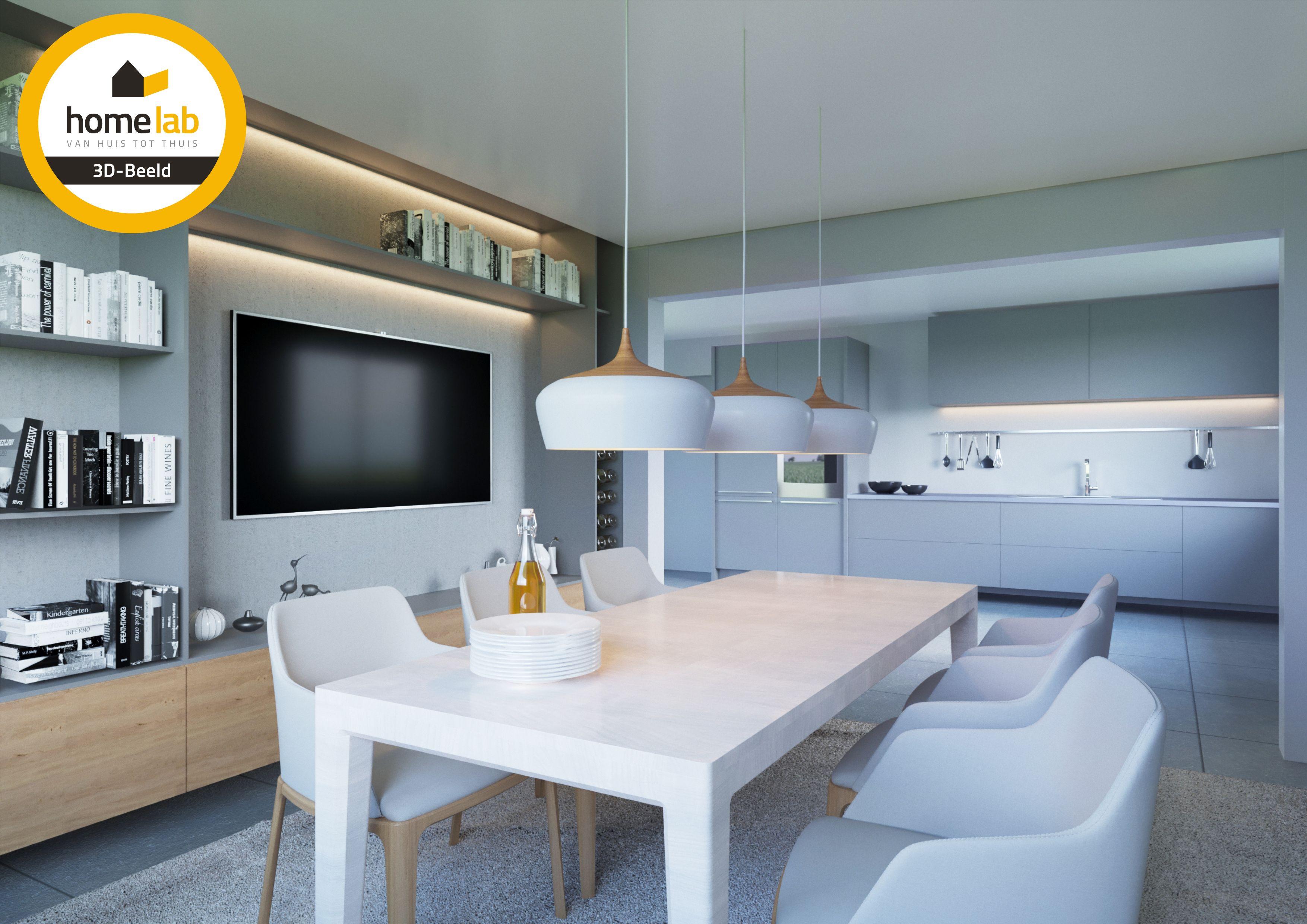 Keuken project Zonhoven #renovatie #homelabprojects #3D #renovatieplatform