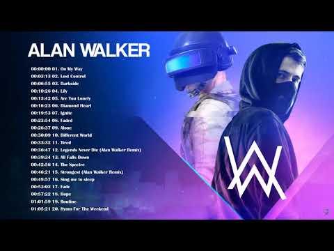 On My Way Lost Control Darkside Lily Best Of Alan Walker 2019 Music For Pubg Youtube Lagu Terbaik Lagu Steve Aoki
