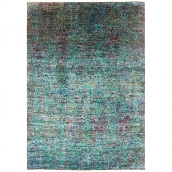 blue green overdyed rug 97x135 rugs hd buttercup online