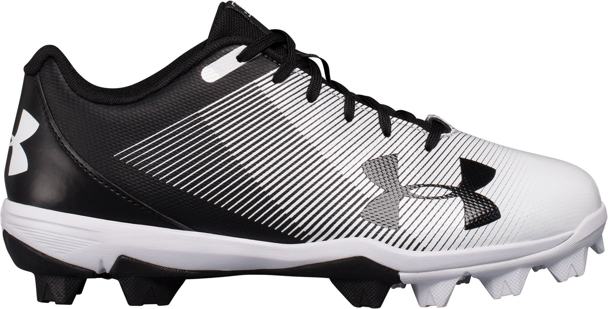 Photo of Under Armour Kids' Leadoff RM Baseball Cleats, Black