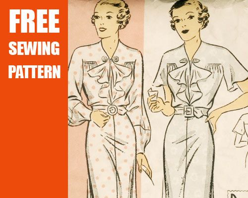 Links to various pages with free sewing patterns. Ultimate List of ...