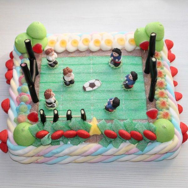 terrain de rugby en bonbons birthday party bonbon gateau bonbon et gateau anniversaire. Black Bedroom Furniture Sets. Home Design Ideas
