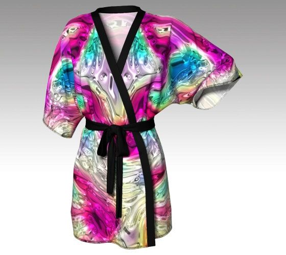 99683d8ada3ef Kimono Robe, Dressing Gown, Colorful Robe, Beach Coverup, Bridesmaids Robes,  Lounge Wear, Swimsuit Coverup, Swim Coverup, Womens Robe, Gift by  LaineyDesigns ...