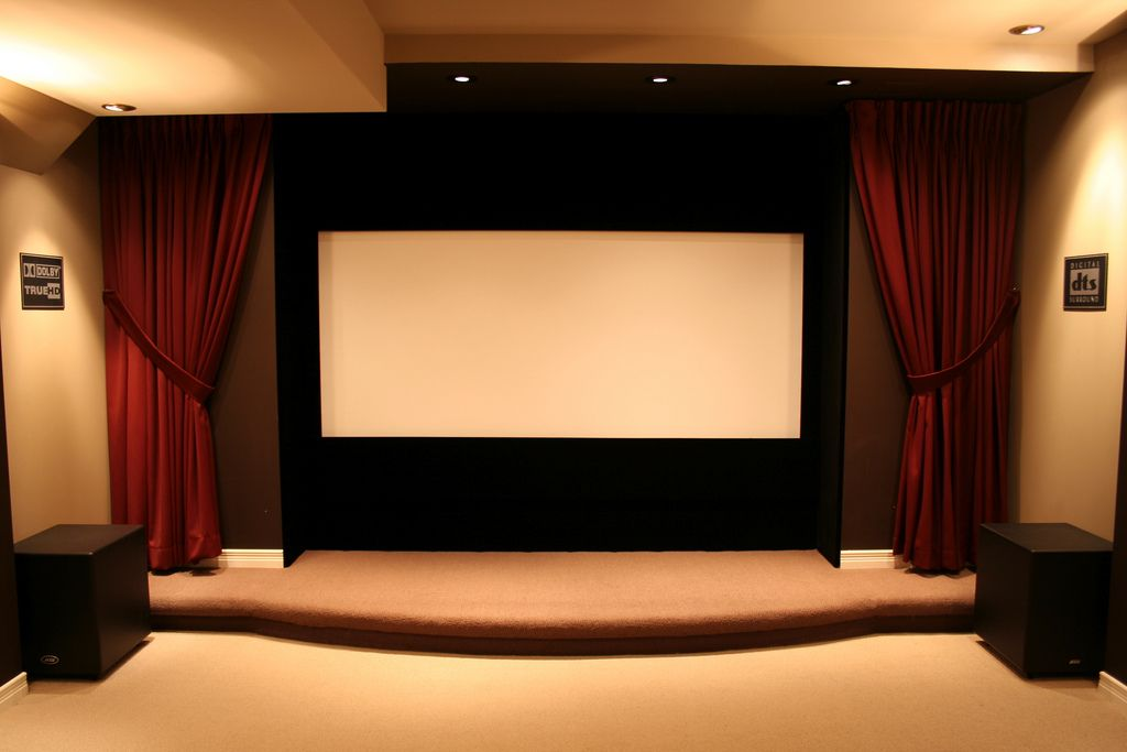 Home Theatre Stage - Google Search | Finished Basement | Pinterest