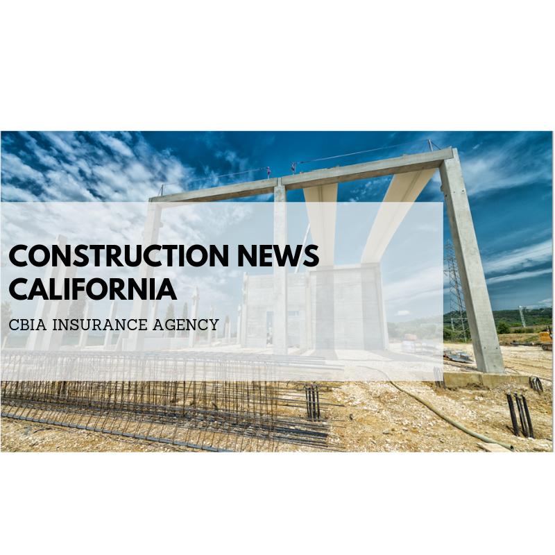 Construction news links for California construction
