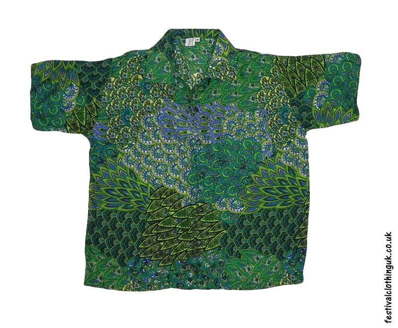 ad43943f3247b Short-Sleeve-Festival-Shirt-Green