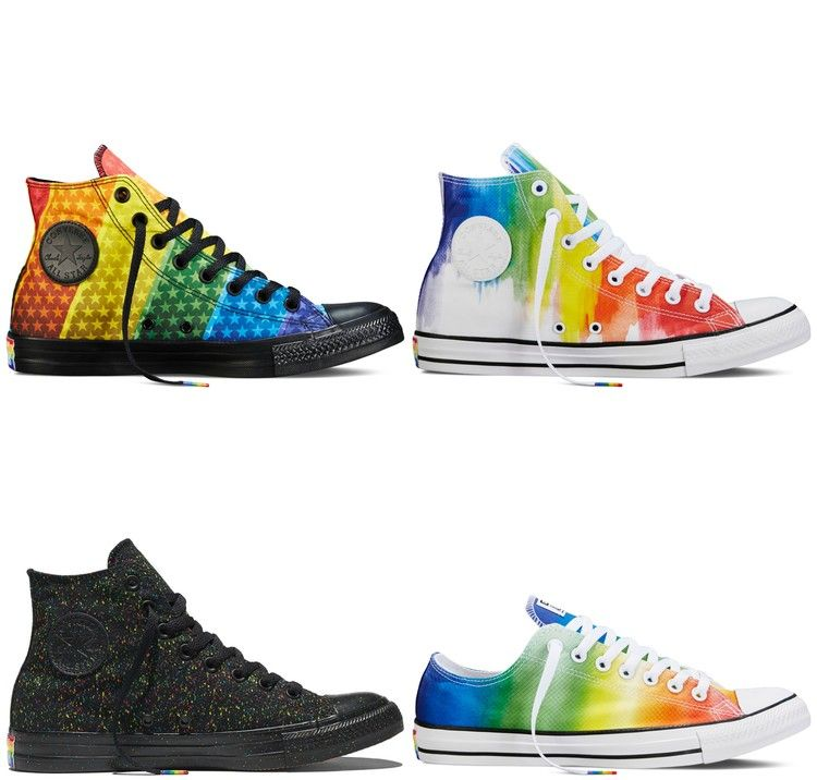 Converse Pride Collection Now Available Online! | Pride