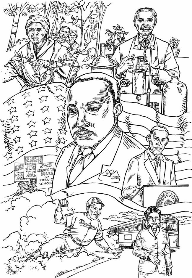 Welcome To Dover Publications Black History Month Crafts Coloring Books Black History Month Activities