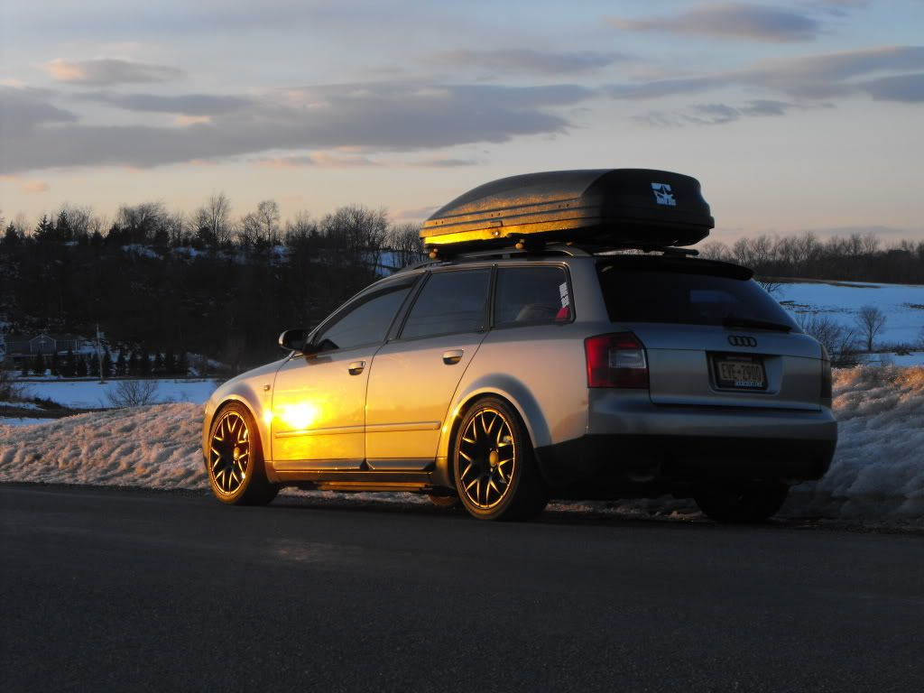 Audi A4 Black Rims w/ roof rack | Audi & Vdub | Pinterest ...