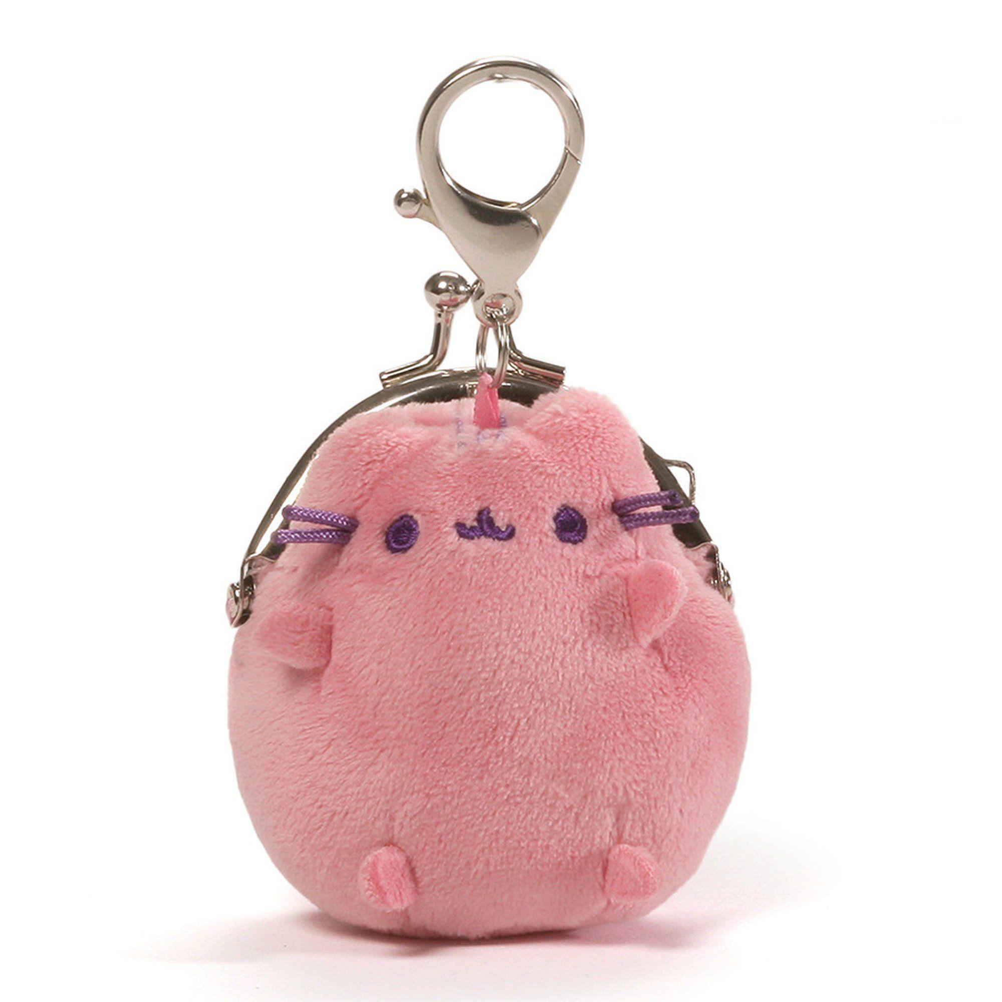 Gund Pusheen The Cat Mini Plush Coin Purse Pastel Pink Cheshire Pusheen Pusheen Coin Purse Coin Purse Purses [ 2000 x 2000 Pixel ]