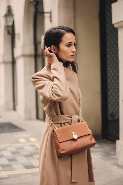 50+ Camel Coats Outfits Street Style Ideas