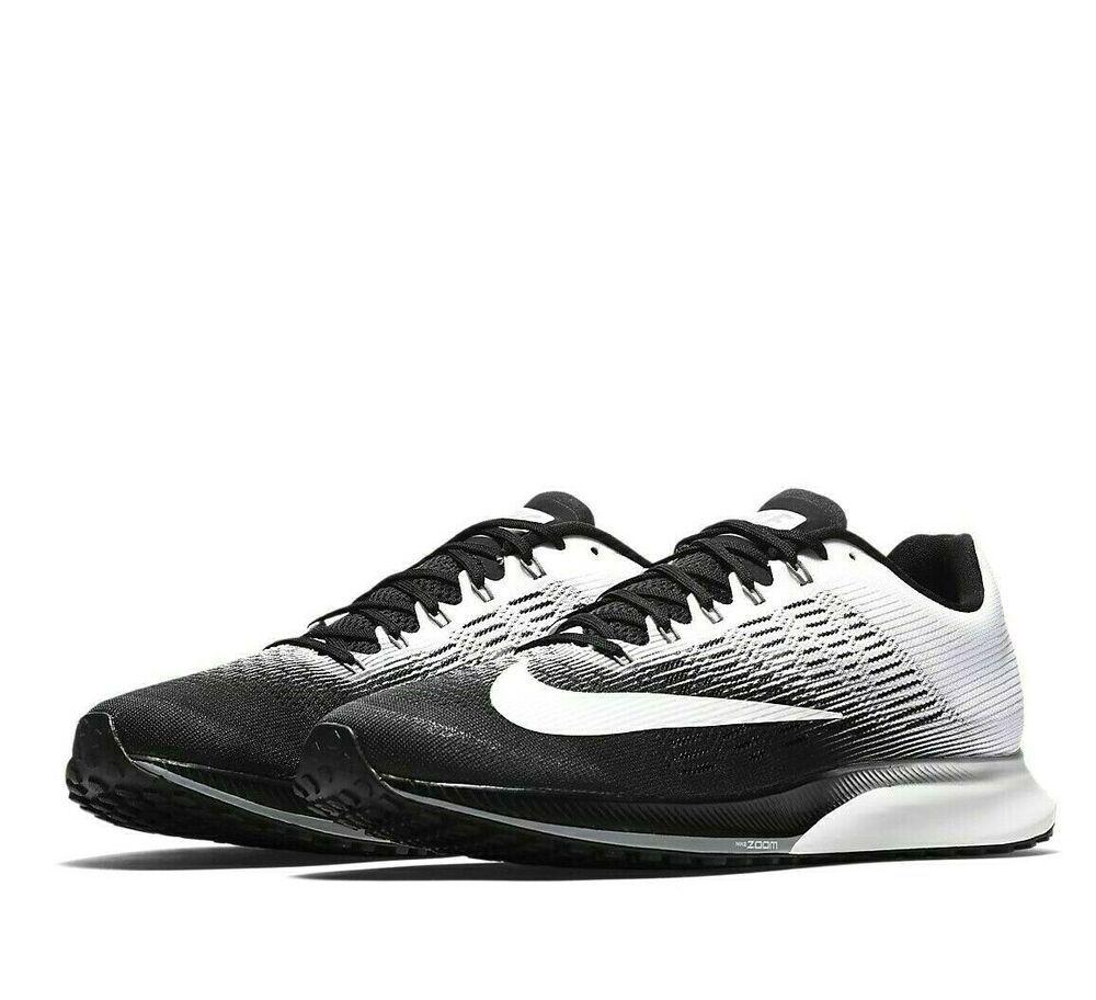 f972e566ef3d Nike Air Zoom Elite 9 Mens Running Shoes 11 Black White Stealth  Nike   RunningShoes