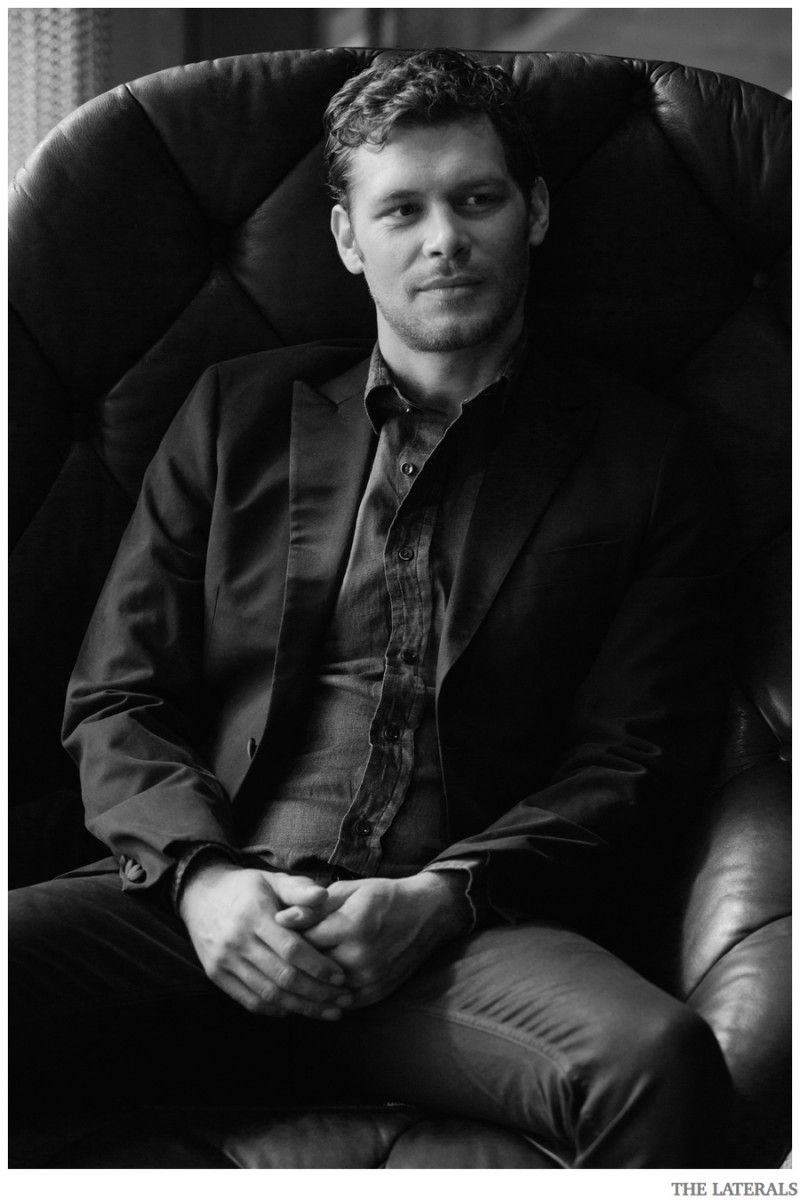 Joseph morgan poses for the laterals shoot talks 39 the for The morgan