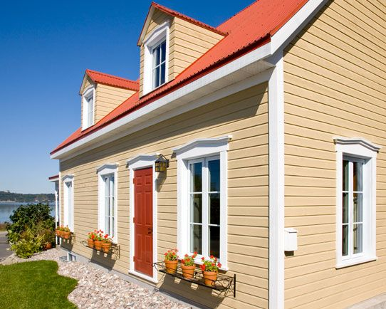 Maibec Wood Siding Used Cove Siding Maibec Ultra White