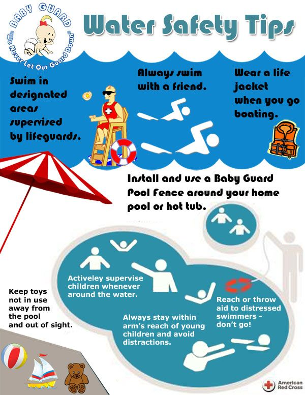 Water And Swimming Pool Safety Tips By Baby Guard Pool Safety Tips Pinterest Safety Water