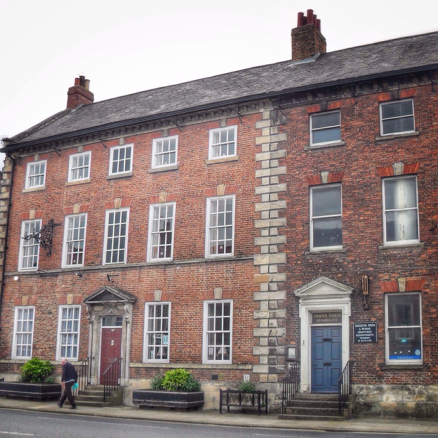 Georgian Houses Tadcaster Yorkshire Dating From 1825 One