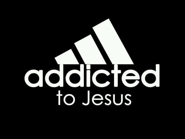 Addicted to Jesus the new symbol for Adidas