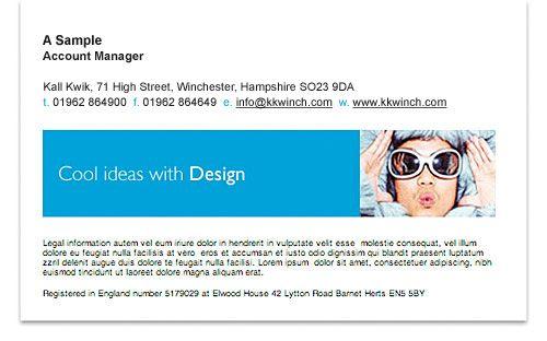 email signature email signatures Pinterest Email signatures - sample email signature