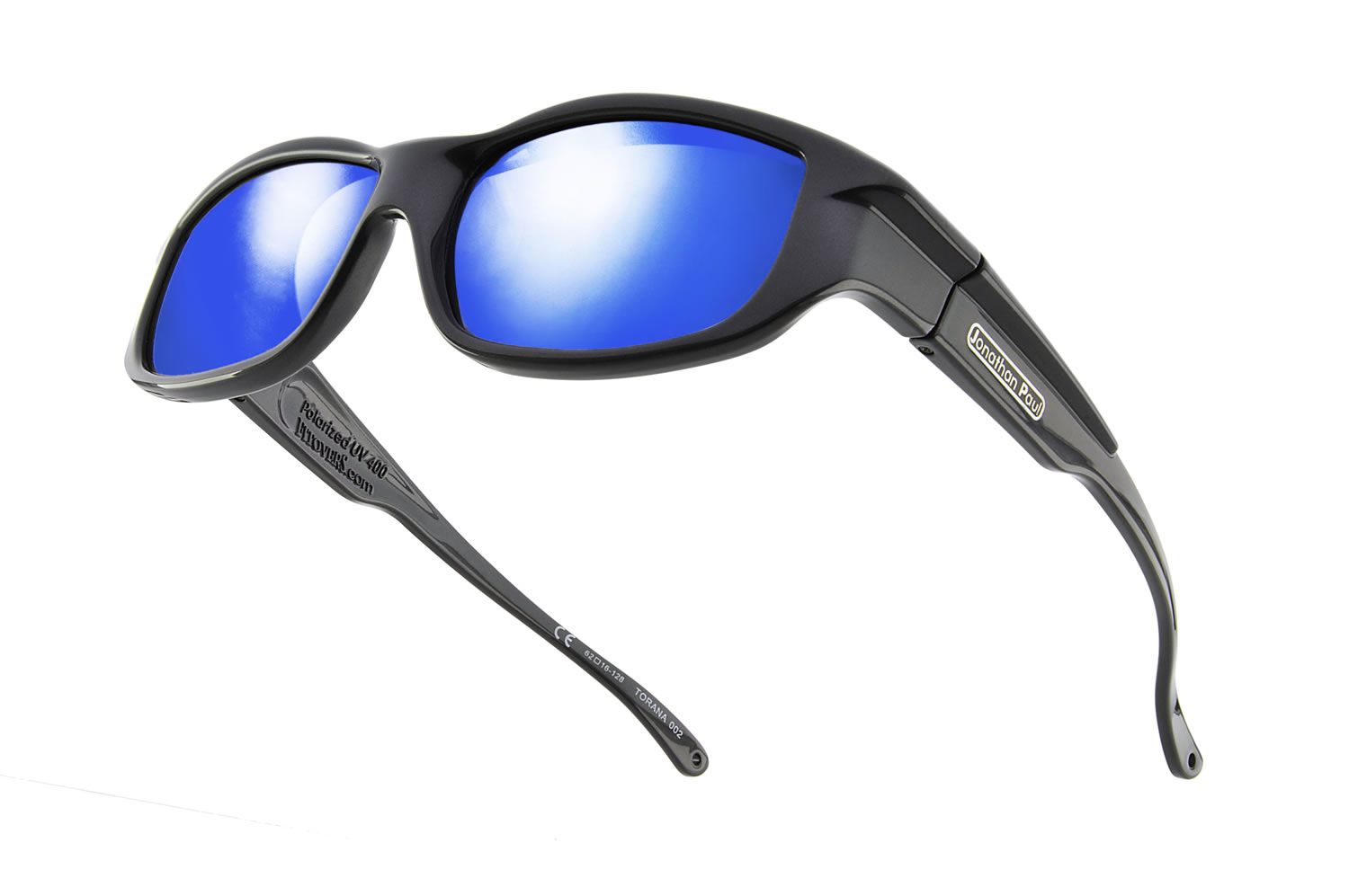 0d5ba7c71b Torana™ Dark Charcoal (Blue Mirror) - the Fashionable Jonathan Paul® Fitovers  Eyewear - fitover sunglasses  designed to fit over prescription glasses or  be ...