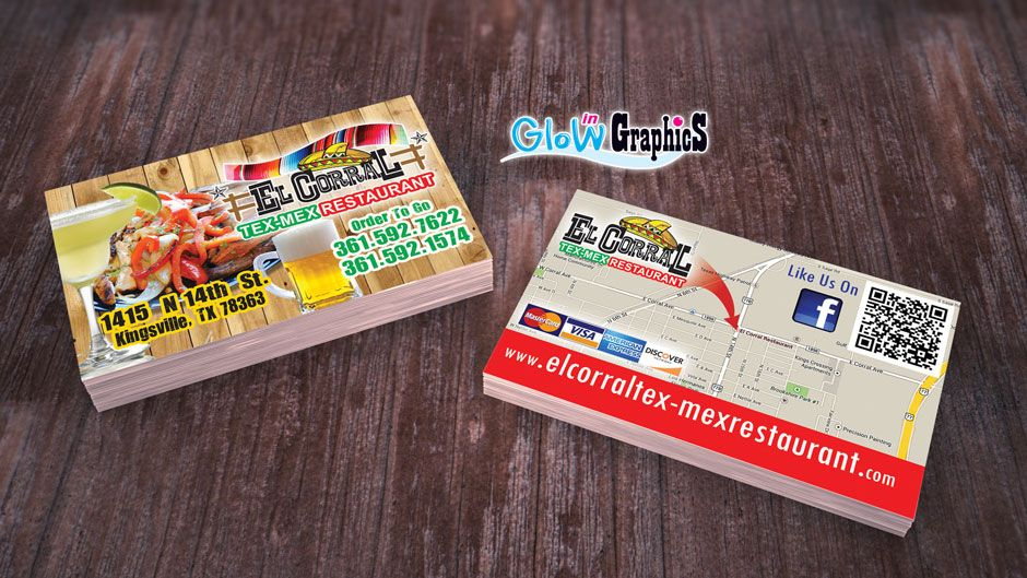 Glow In Graphics | Digital Printing - Houston, TX | business cards ...